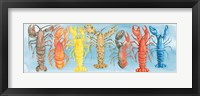 Framed Rare Catch Red Lobster