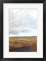 Framed Sunset Over The Marsh III