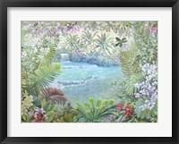 Framed Cascata Tropicale (detail)