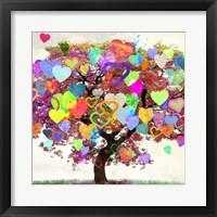 Framed Tree of Love (detail)