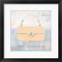 Framed I Love my Handbag