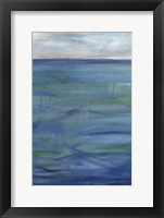 Framed Deep Blue III