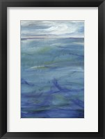 Framed Deep Blue I