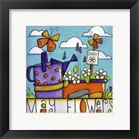 Framed May Flowers