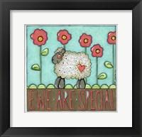 Framed Ewe R Special