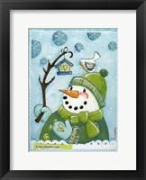 Framed Snow Friends