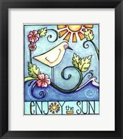 Framed Enjoy the Sun