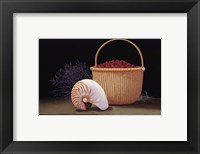 Nantucket Harvest Framed Print