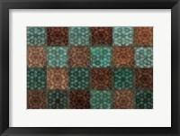 Framed Mosaic Tiles I