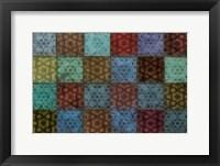 Framed Mosaic Tiles II