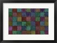 Framed Mosaic Tiles V
