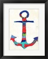 Framed Anchor Stripe
