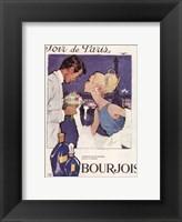 Framed Soir de Paris Bourjois in White