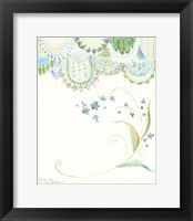 Framed Forget-Me-Not Thoughts