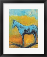 Framed Mare and Oats