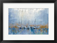 Framed Boats in the Harbor I