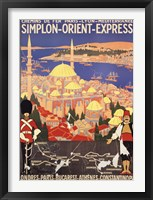 Framed Orient Express