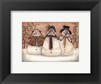 Hear No Evil, See No Evil Framed Print