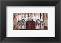 Framed Homespun