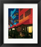 Framed Boulevard Cafe