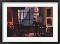 Framed Afternoon in Studio