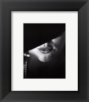 Born to Kiss Framed Print