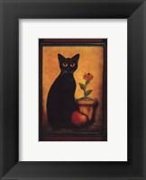Framed Cat II Framed Print