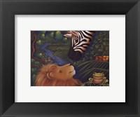 Framed Jungle Love I