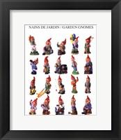 Framed Garden Gnomes