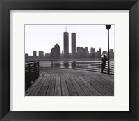 Framed Jersey City Boardwalk