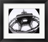 Framed Eiffel Tower, Paris 1979