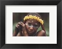 Framed Fillette Papou