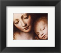 Framed Madonna & Child
