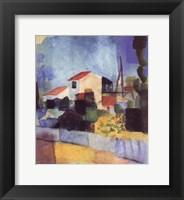 Framed Light-Colored House