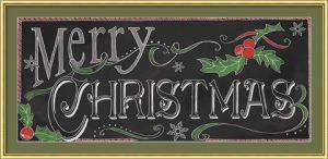 Chalk Merry by Fiona Stokes-Gilbert - Chalkboard Art