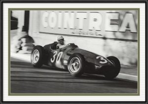 Grand Prix of Monaco Black and White Photograph #30