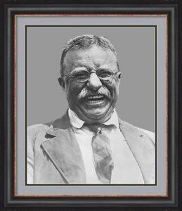 Theodore Roosevelt Smiling by John Parrot/Stocktrek Images