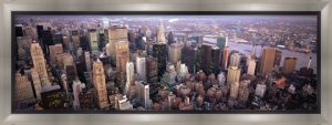 Aerial View of New York City Skyline by Panoramic Images