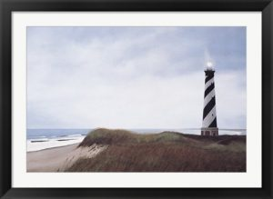 Cape Hatteras beach art by David Knowlton