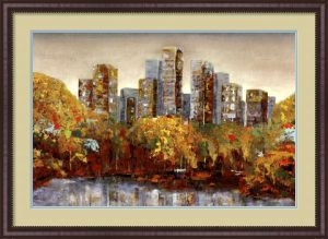 Central Park painting by Carmen Dolce