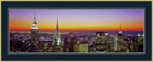 Midtown Manhattan at Sunset, NYC by Richard Berenholtz