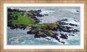 Pebble Beach Golf Course, Monterey County, California