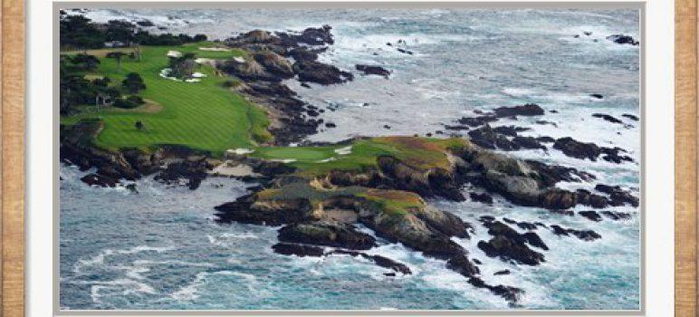 Pebble Beach Golf Course, Monterey County, California