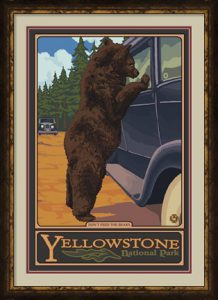 Don't Feed The Bears Yellowstone by Lantern Press