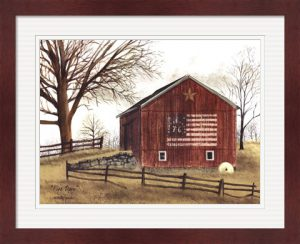 Flag Barn by Billy Jacobs
