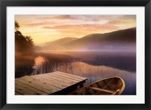 Morning on the Lake by Steve Hunziker
