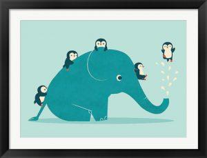 Waterslide by Jay Fleck - Elephant Artwork
