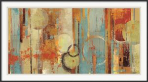 Beach Wood - Tom Reeves - Abstract Print