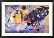 Gelb, Rot, Blau (1925) by Wassily Kandinsky