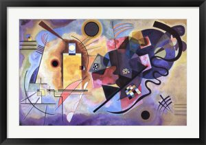 Gelb, Rot, Blau (1925) by Wassily Kandinsky is one of our most popular abstract artwork prints